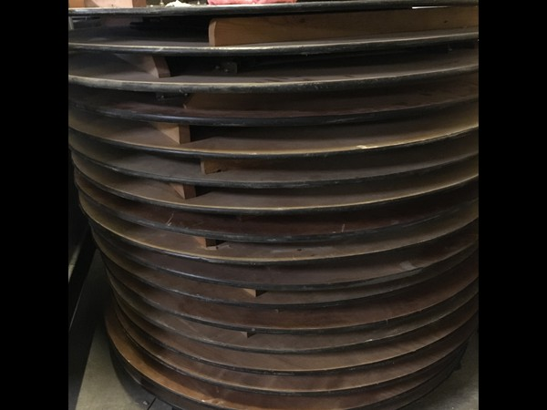 5ft Round Folding Event Tables