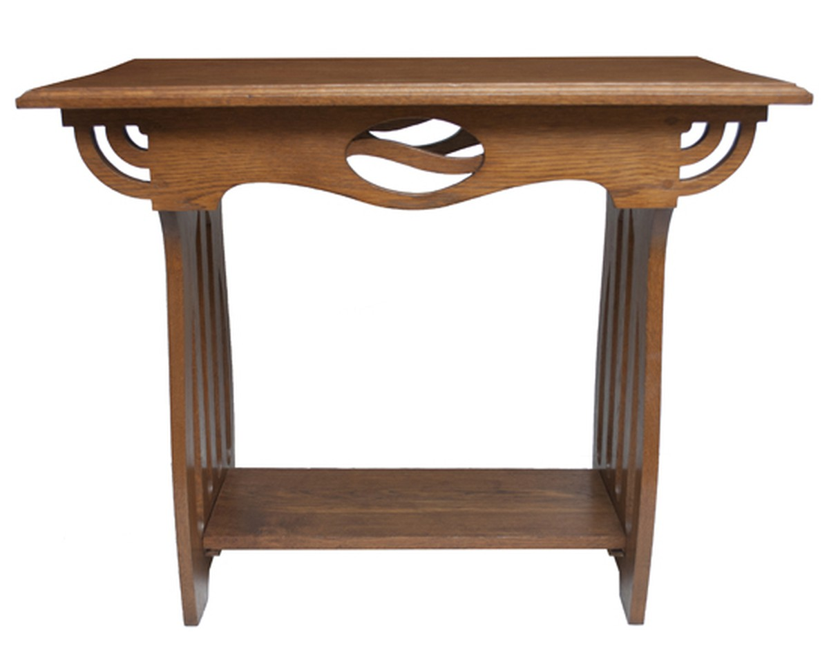 Oak Arts U0026 Crafts Side Table ...