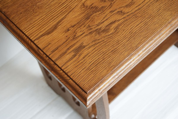 Oak Arts & Crafts Side Table c.1890