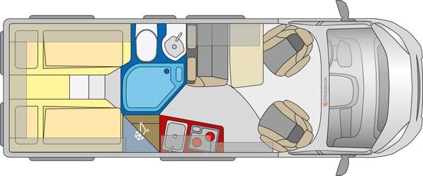 Globecar Campscout- 150bhp Elegance 3 Berth Motorhome
