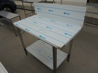 New B Grade Stainless Steel Table (6003)