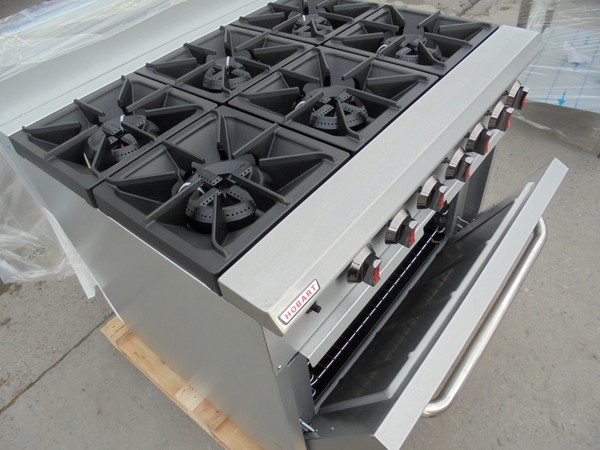 6 burner grade oven