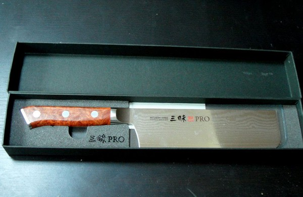 Unused chefs knives