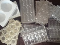 Secondhand chocolate moulds