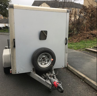 Used indespension box trailer