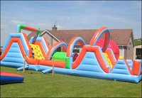 50 Ft Inflatable Obstacle Course