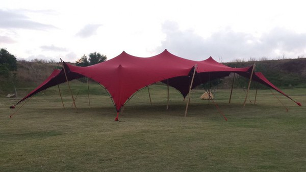 Secondhand stretch tent