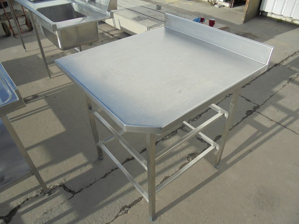 850mm or 85cm stainless steel table