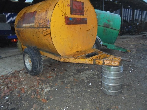 Used bunded fuel tanker