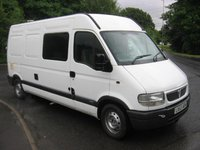 Used vauxhall van for sale