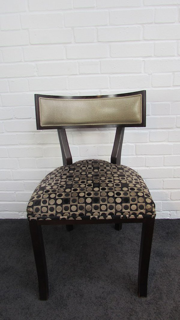 Retro Dotty dining chairs
