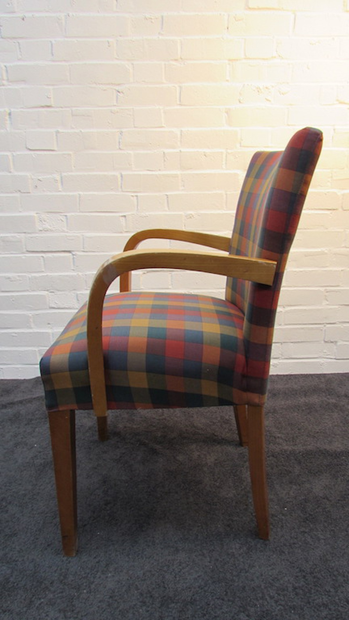 Secondhand Hotel Furniture Dining Chairs 16x Tartan