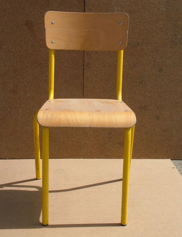 Used vintage french chairs