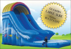 Commercial ex hire Inflatable Mega Slide