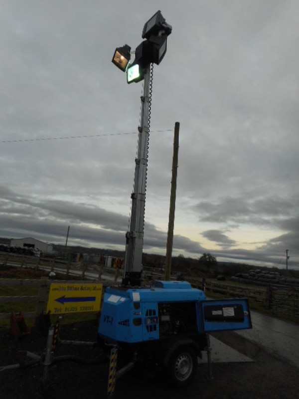 9m Lighting tower