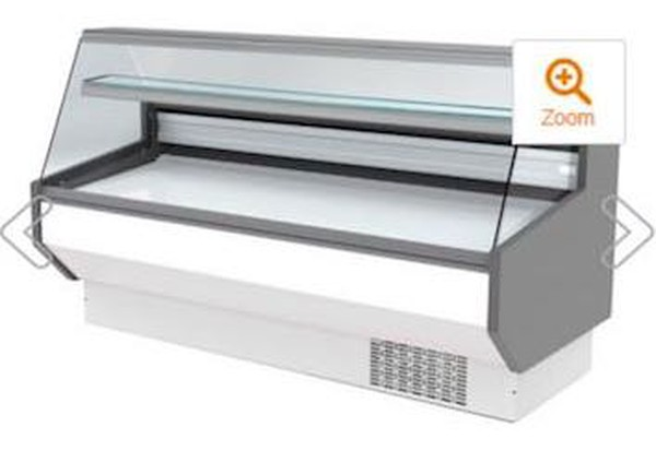3 Slim Serve Over Refrigerated Display Counters