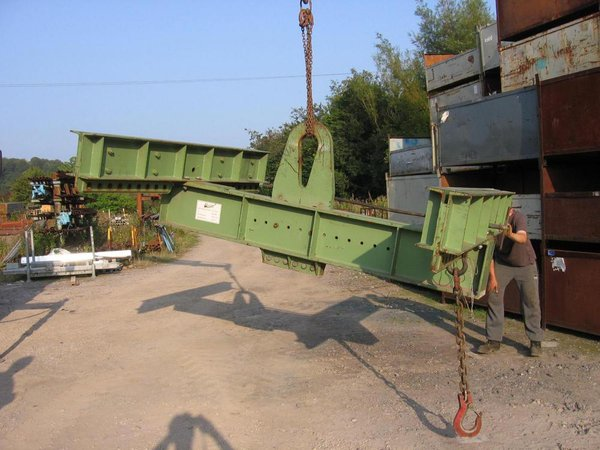 Crane lifting frame