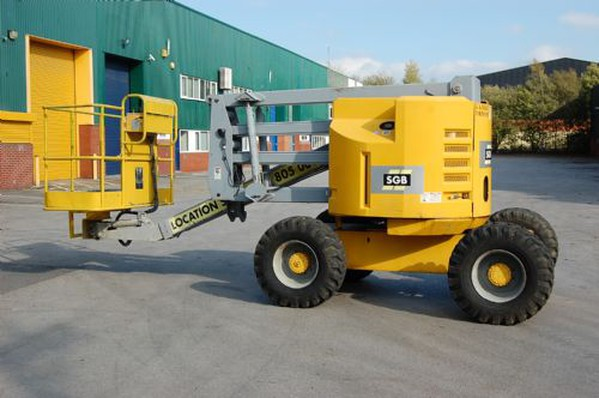 Used off road Access equipment