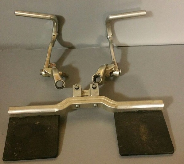 Tonykart OTK Junior Pedals Mounts and footplate for EVK and 401 Racer