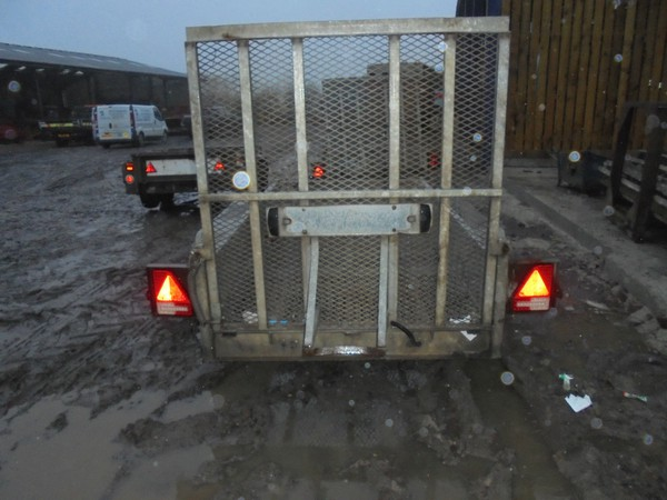 mesh ramp plant trailer 2600kg