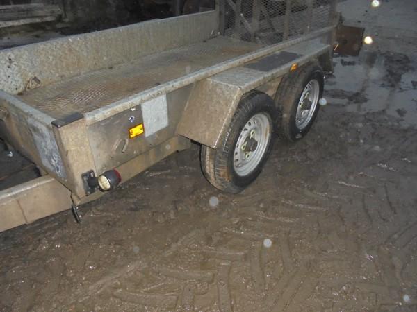 used plant trailer 2600kg