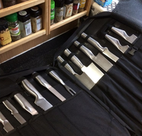 Commercial chef knives