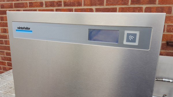 Dishwasher and sink unit