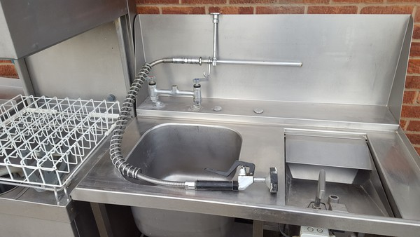 Dishwasher sink unit