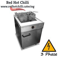 Electric double fryer