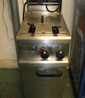Electric twin fryer for sale