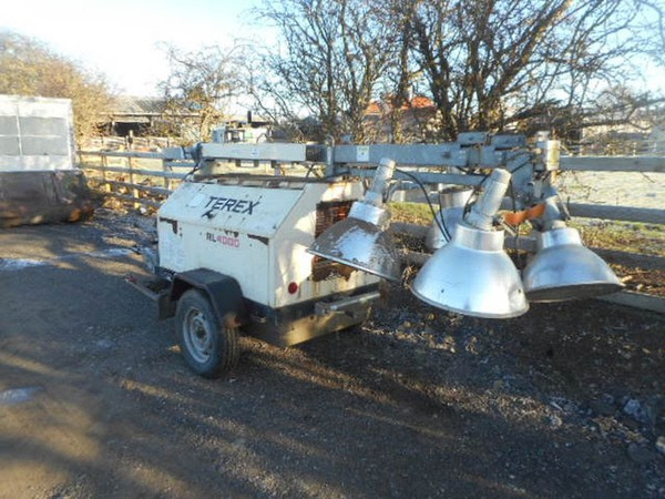2005 Terex RL4000 Towable Lighting Tower