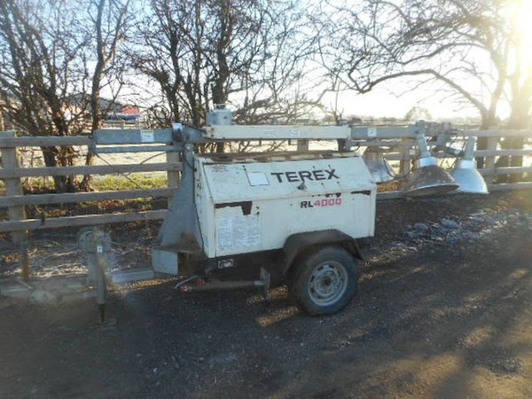 Terex RL4000 Towable Lighting Tower