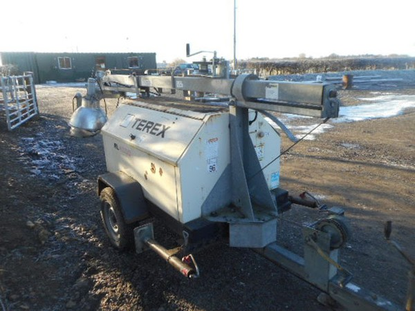 Used Terex RL4000 Towable Lighting Tower