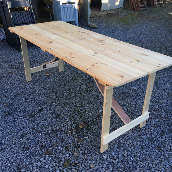 Trestle tables for sale