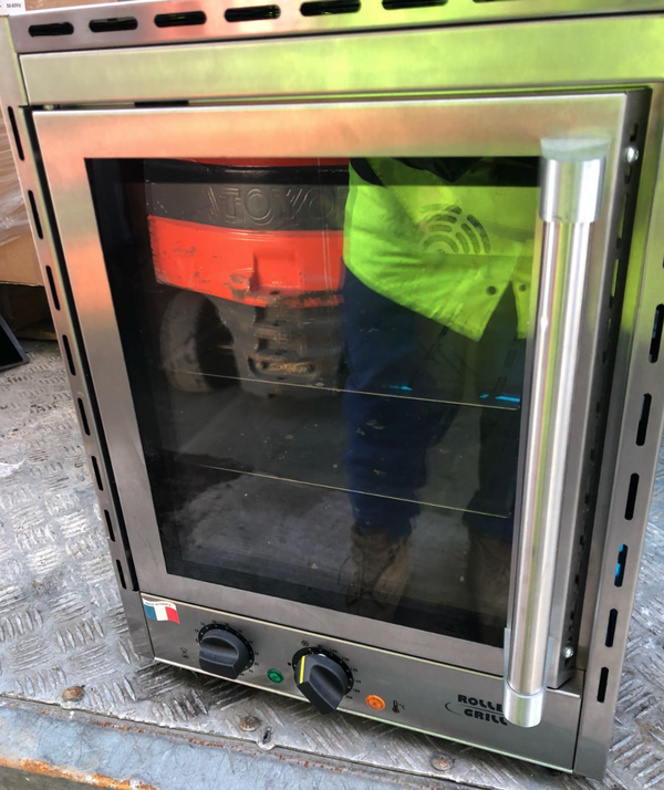 Used roller grill convection oven