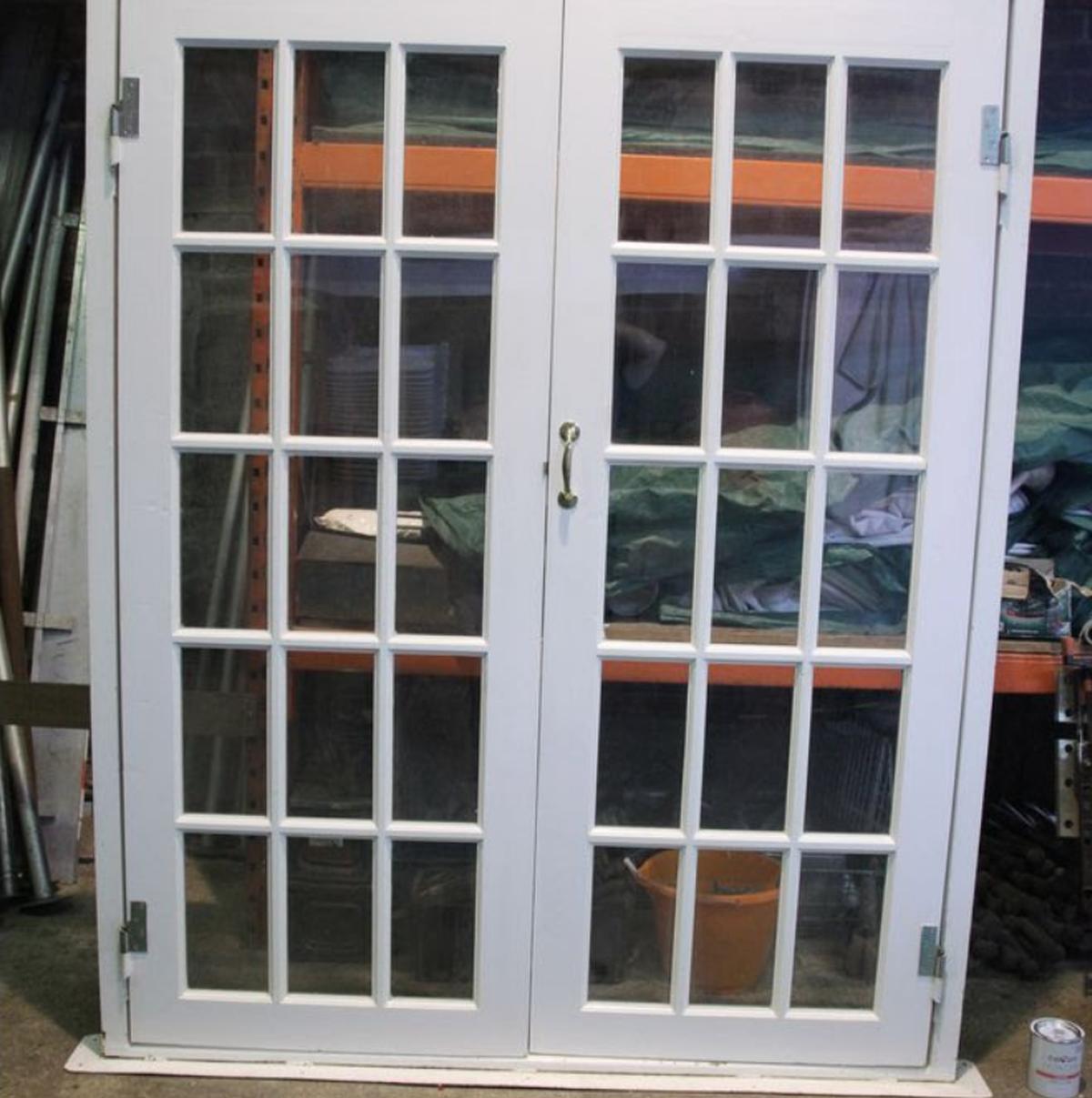 Curlew Secondhand Marquees Doors Double Doors Gloucestershire