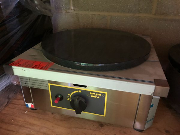Gas crepe maker