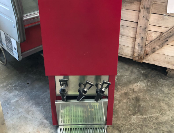 Used wine dispenser London