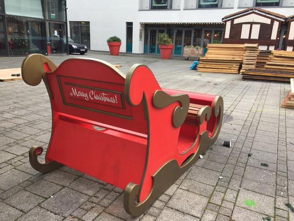 Xmas sleigh for sale