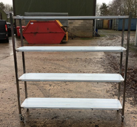 4 tier shelving rack