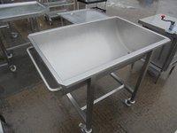 Steel trough