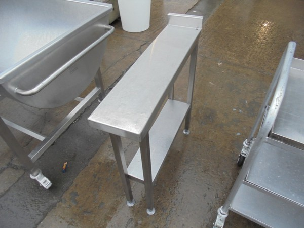 Used Stainless Steel Infill Table (6098)
