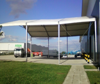 Loading bay canopy for sale