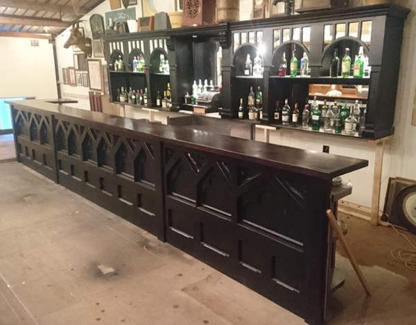 Reclaimed bar unit