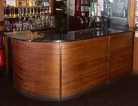 Curved bar front for sale