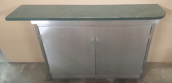 Secondhand curved back bar