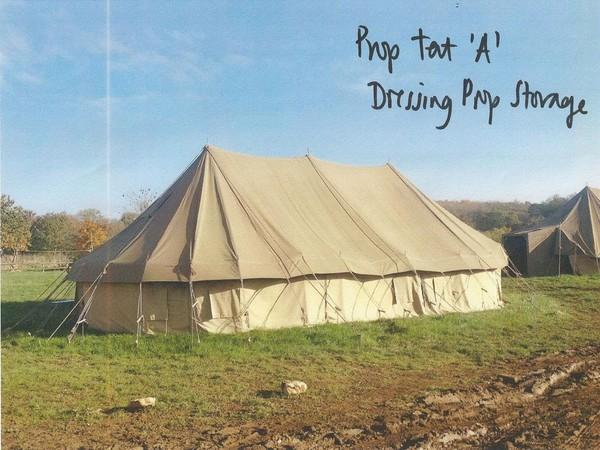 Replica army tents Wiltshire