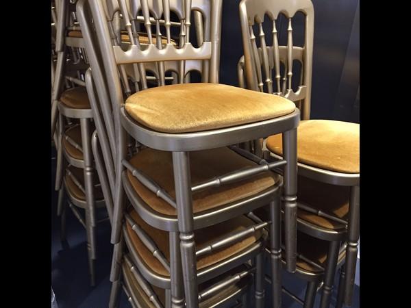 Used Cheltenham Gilt / Gold Banquet Chairs