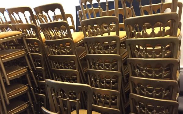 Used Cheltenham Gilt / Gold Banqueting Chairs