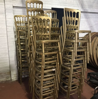 Used cheltenham gilt gold chairs